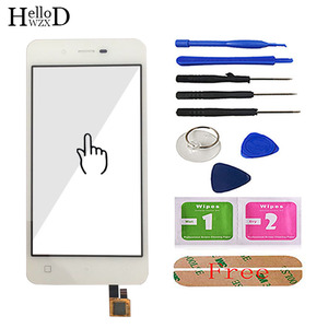 Image 4 - 4.7 Touch Screen Glass For Micromax Q380 380 Touch Screen Glass Digitizer Panel Front Glass Lens Sensor Tools Free Adhesive