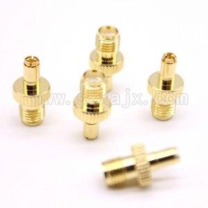 Image 4 - Großhandel JX stecker 100 stücke SMA auf TS9 stecker gerade SMA weibliche auf TS9 vergoldet adapter für 3G4G antenne freies verschiffen