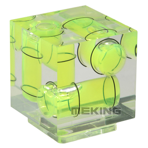 Image 2 - Triple 3 Axis Hot Shoe Waterpas Hotshoe Bubble Gradienter Voor Canon Nikon Camera Etc
