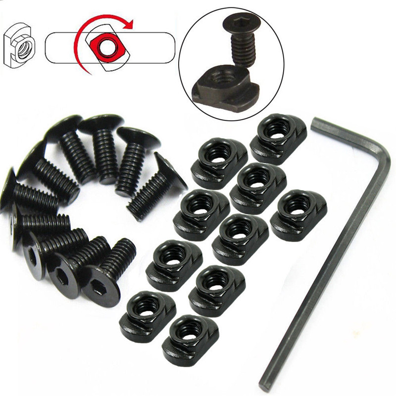 Image 5 - 10 Pack/lot M LOK Screw And Nut Replacement For MLOK Handguard Rail Sections Tactical Accessories-in Hunting Gun Accessories from Sports & Entertainment