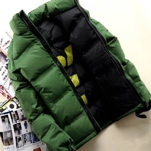 Ropa de invierno, chaquetas bajas, fondo Corto, grueso, juventud coreana, temporada de moda cálida, hacer un inventario de existencias de la chaqueta acolchada