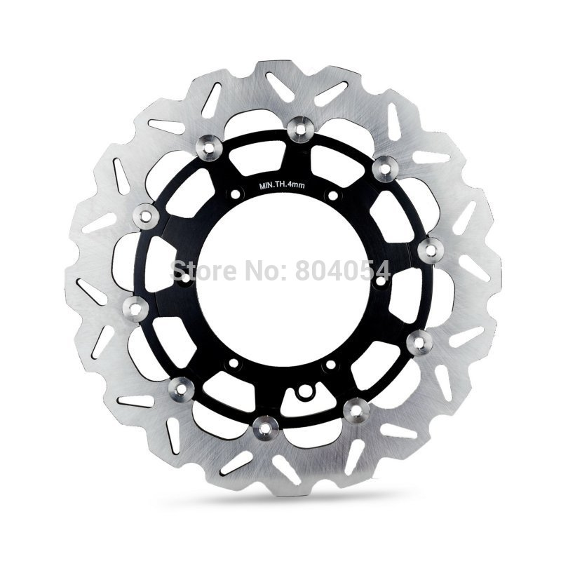 Supermoto Front Brake Disc Rotor 320mm For KTM 125-640cc SX/SX-F/XC/XC-W/MX/EXC/SXC motorcycle front rider seat leather cover for ktm 125 200 390 duke