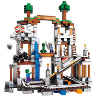 The Mine 922pcs Compatible With Lego MY WORLD Model Building Toys Hobbies For Children