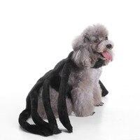 חורף בגדי כלב בגודל בינוני כלבים קטן אשף גלימה מצחיק כלבי חיות מחמד דלעת עכביש תחפושות ליל כל הקדושים תחפושות