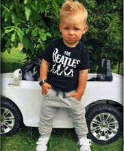 Kids Clothes Sets Short Sleeve Boy T-shirt Pants Suit Clothing Set Newborn Sport Suits Children Baby Boy Clothes