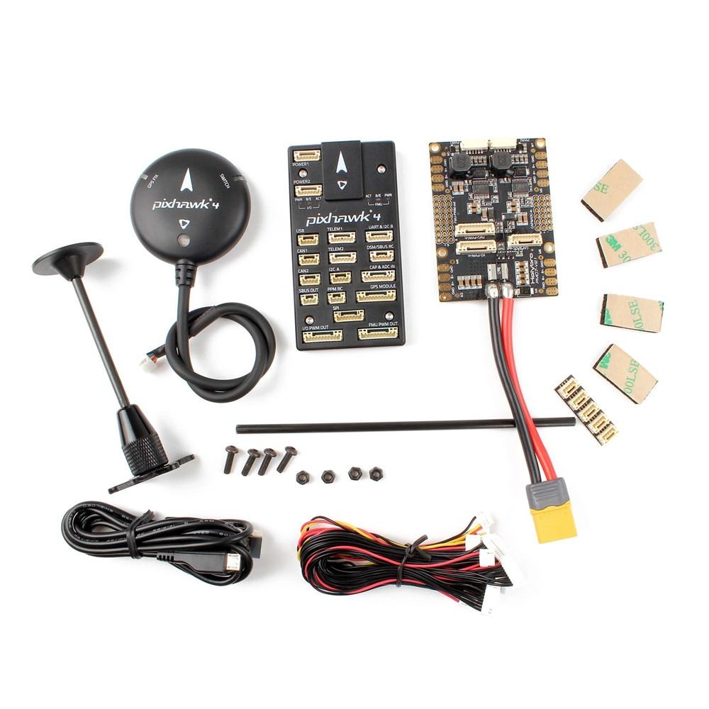 Contrôleur de vol automatique HolyBro Pixhawk 4 et Module GPS M8N