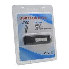 Высокое качество цифровой 8 Гб USB диктофон мини активированный аудио рекордер Диктофон Flas ручка аккумуляторная Gravador de voz Profes