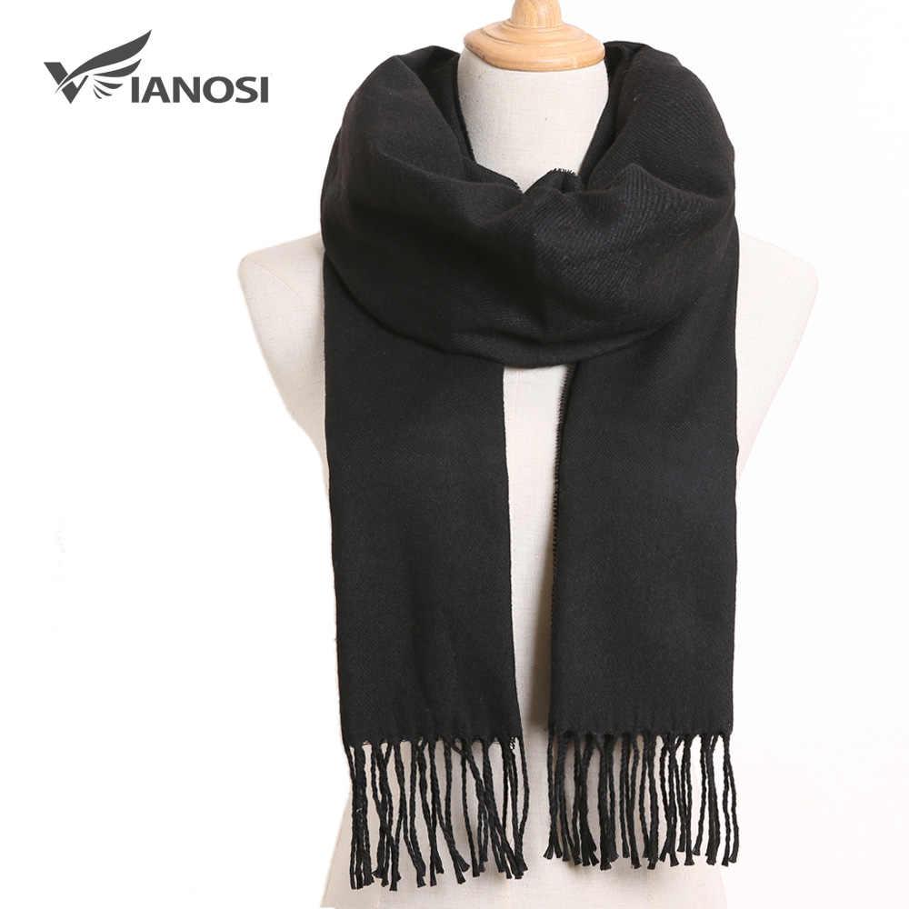 [VIANOSI] 2019 bufanda de diseño de lujo para Hombre, poncho de Bufandas a cuadros, Bufandas casuales de invierno, Bufandas para Hombre