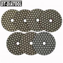 """Dt diatool 7 шт/pk 4 """"полимерные гибкие Алмазные полировальные"""