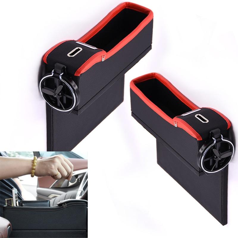 Car Air Vent Storage Pouch Transparent Pocket Organizer Phone Holder Box J