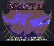 Beast II 16 bit MD Game Card For Sega Mega Drive For SEGA Genesis