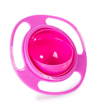 Kids Bowl Baby Feeding Spill Proof Rotate
