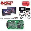 2016 KESS V2 (SW: V2.28 HW: V4.036) Conjunto completo Opcional OBD2 ECU Tuning Chip ferramenta de Diagnóstico-Unlimited Token 4.036 Auto Diagnóstico