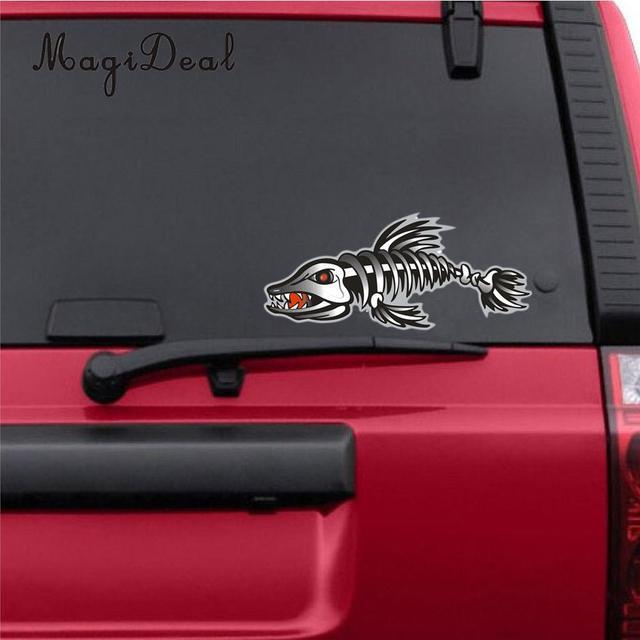 Magideal marine 2pcs car styling sarhk vinyl decals stickers kayak canoe rowing boat graphics water sport
