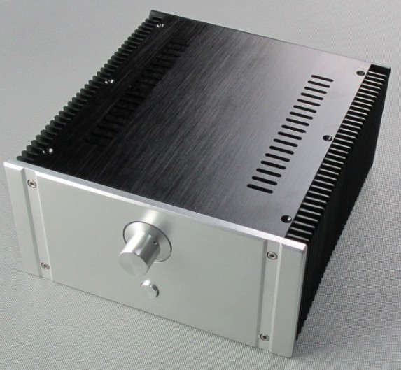 DIY New BZ2412A Full Aluminum Enclosure/mini AMP case/power amplifier box/chassis drumohr головной убор