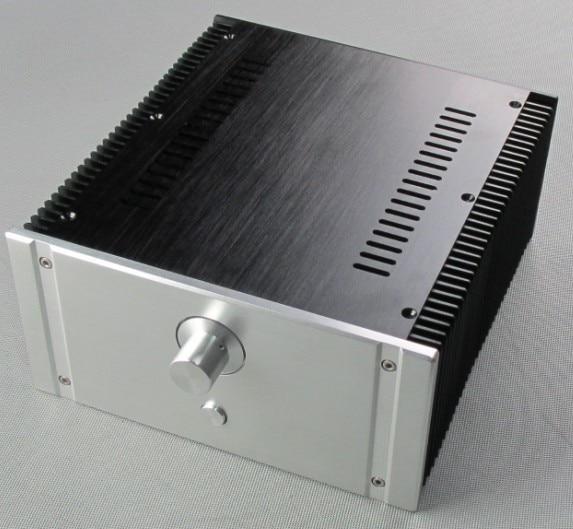 DIY new 2412B Full Aluminum Enclosure/mini AMP case/power amplifier box/chassis new high grade aluminum preamplifier diy enclosure amplifier chassis amp box