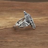 925 Sterling Silver Ganesh Ring 1