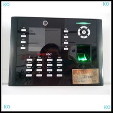 TCP IP USB RFID ID Fingerprint Time Attendance Unit Biometric time and security management system iclock660