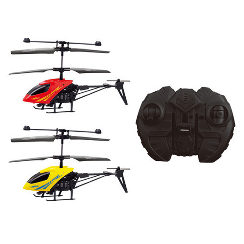 New 2 channels remote control helicopter aviation model wrestling mini remote control aircraft straight children s