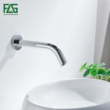 automatic sensor cold and hot faucet  brass chrome basin tap high quality brand new free shipping цена 2017