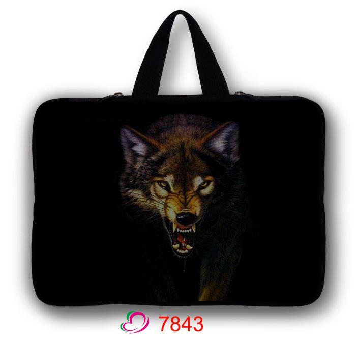 Wolf font b Laptop b font Sleeve 14 15 6 17 Inch Notebook font b Bag