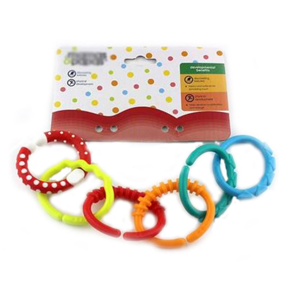 6 pcs set rainbow color tooth gum baby bed decor baby for Baby first tooth decoration