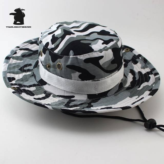 c55b6f88b US $4.92 48% OFF|MULTICAM HAT ARMY BOONIE HAT 26 Colors Military Camouflage  Bucket Hats Hunting Hiking Fishing Climbing Cap AF23-in Bucket Hats from ...
