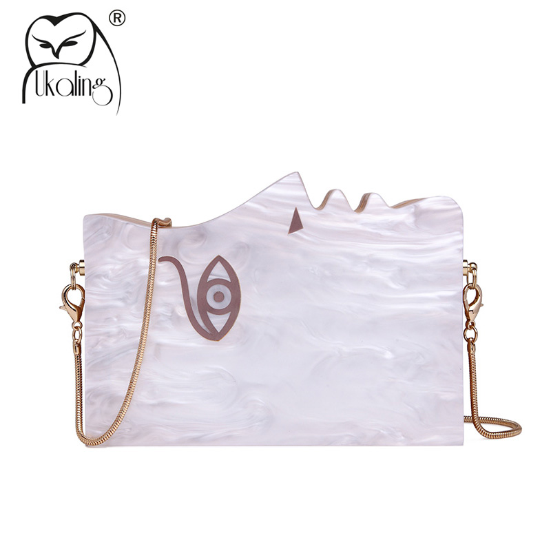 UKQLING Special Wood Women Bag Clutch Purse Ladies Day Clutches Party Evening Handbags Chain Box Dinner Banquet Shoulder Bags women banquet long clutch purse bag ladies chain crossbody shoulder bag genuine leather long wallet evening handbag day clutches