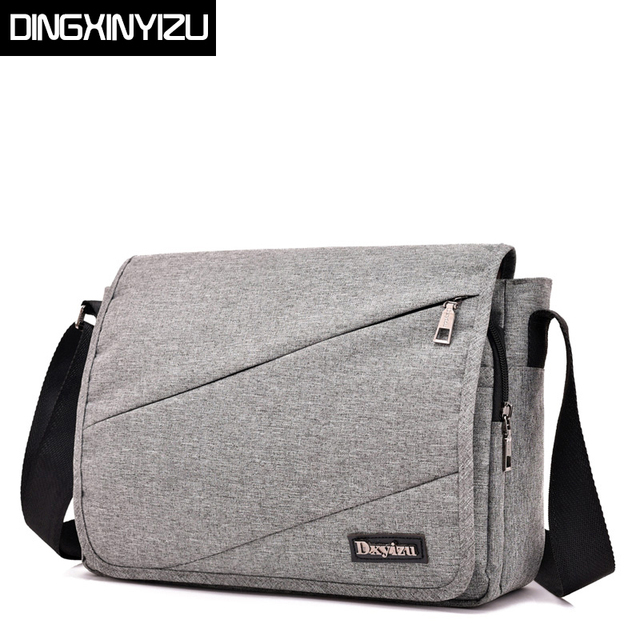 DINGXINYIZU Oxford Men Shoulder Bag Casual Business Satchel Handbags Mens  Messenger Bags Fashion Women Crossbody Bag Male Bolsas 945fd01d34923