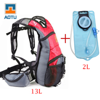 Bicycle bag + 2L TPU Water Bag hydration Outdoor Sport Bladder Hydration Bike Bag Cycling bag cycle backpack running pack
