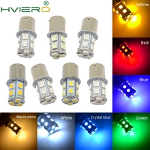 1X 1156 BA15S 1157 BA15D P21W 13Led 5050 Car Led Turn Signal Lights Brake Tail Lamps Auto Parking Rear Reverse Bulbs DC 12V p21w 1156 ba15s 1157 bay15d 13led 5050 car led turn signal light brake tail lamps auto led rear reverse bulbs backup lamp dc 12v