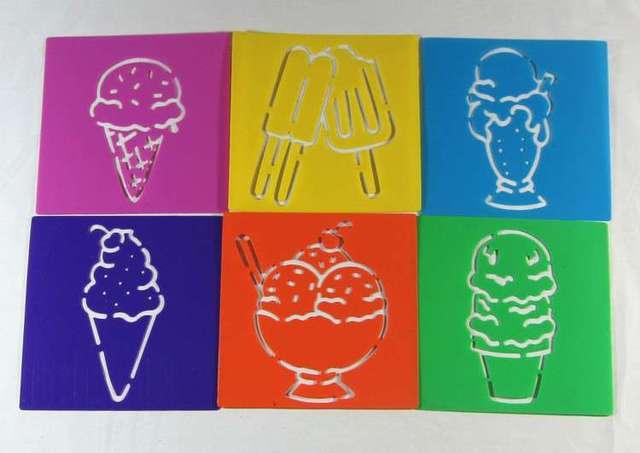 Anak Anak Puzzle Awal Lukisan Es Krim Gambar Babi Hutan Sketchpad