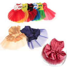 2019 New pet dog skirt teddy poodle chihuahua cat spring/summer little princess style clothes