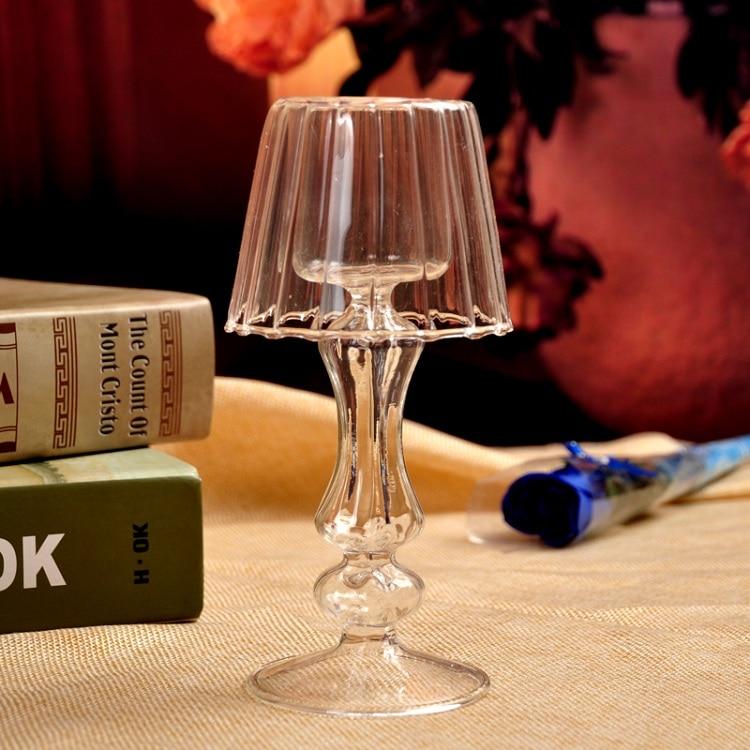 6/8/10/12 см Свеча светильник держатель стильный Чай светильник держатель круглый висячая стеклянная свеча романтические домашний Свадебный декор - Цвет: 18cm 6cm