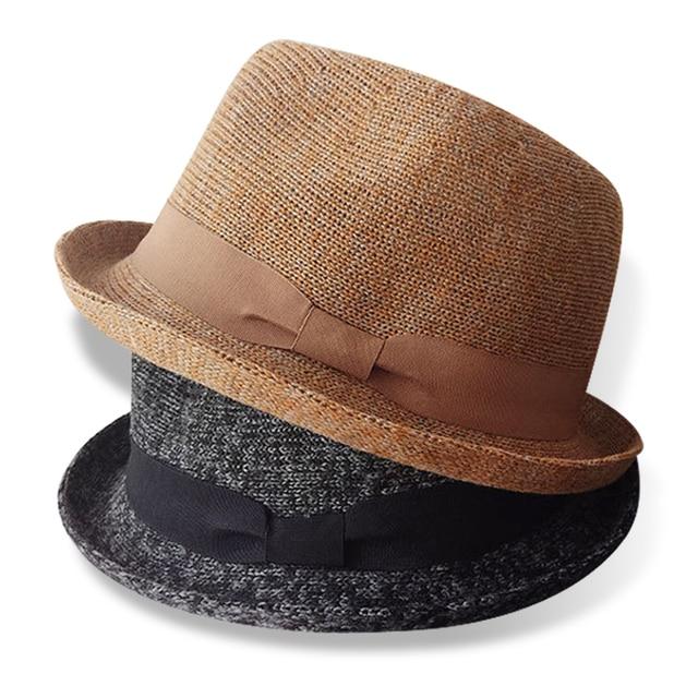 Primavera otoño moda unisex casual modelos fedora sombrero para las mujeres  hombres que prensa ala jpg 156cab0053d
