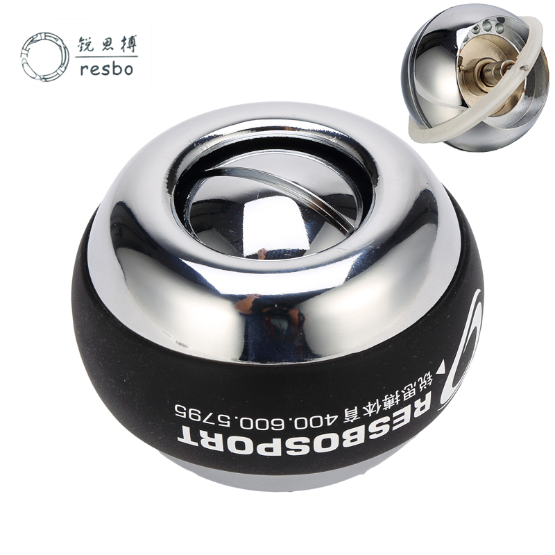 48LBS Strengthen Power Wrist Ball Metal Forearm Muscle Training Pressure Relieve Gyro Ball Gyroscopic Force Exerciser Ball A