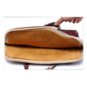 Image 3 - Laptop Bag 13 14 15.6 inch Case Notebook Bag For Macbook Air Pro 15.4 Laptop Shoulder Bag Floral Portable for Xiaomi Notebook