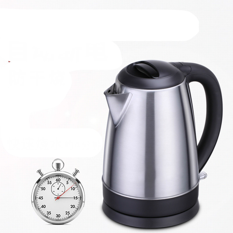 Electric kettle Large capacity household 304 stainless steel electric Safety Auto-Off Function cukyi stainless steel 1800w electric kettle household 2l safety auto off function quick heating red gold