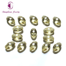 Hot Sale New Design AAA 9x6MM 200PCS Multi Colors Grains Crystal Beads Oval Shape Loose Bead For Jewelry Bracelet DIY