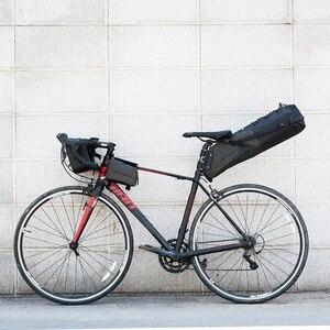 Image 3 - ROCKBROS 자전거 가방 방수 반사 10L 대용량 안장 가방 사이클링 Foldable 꼬리 후면 가방 MTB 도로 트렁크 자전거 가방