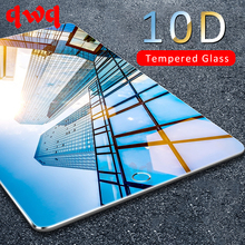 10D Gehard Glas Voor Apple iPad Air 1 2 Mini 4 3 2 1 Screen Protector Op De Voor iPad pro 9.7 inch 2 3 4 5 6 Beschermende Film(China)