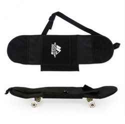 جديد أسود سكيت حمل حقيبة 4 عجلات لوح التزلج حقيبة 31 x 8 لوح التزلج مزدوجة الروك على ظهره
