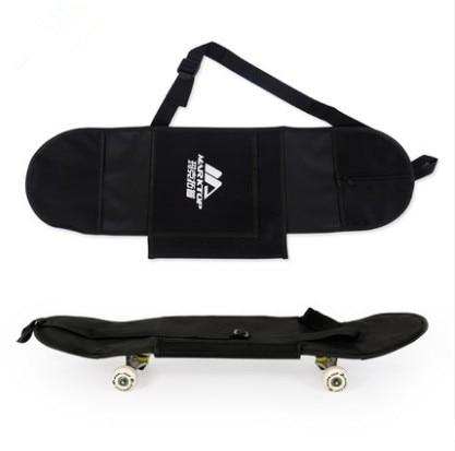 New Black Skateboard Carrying Bag 4 Wheels Skateboard Bag 31