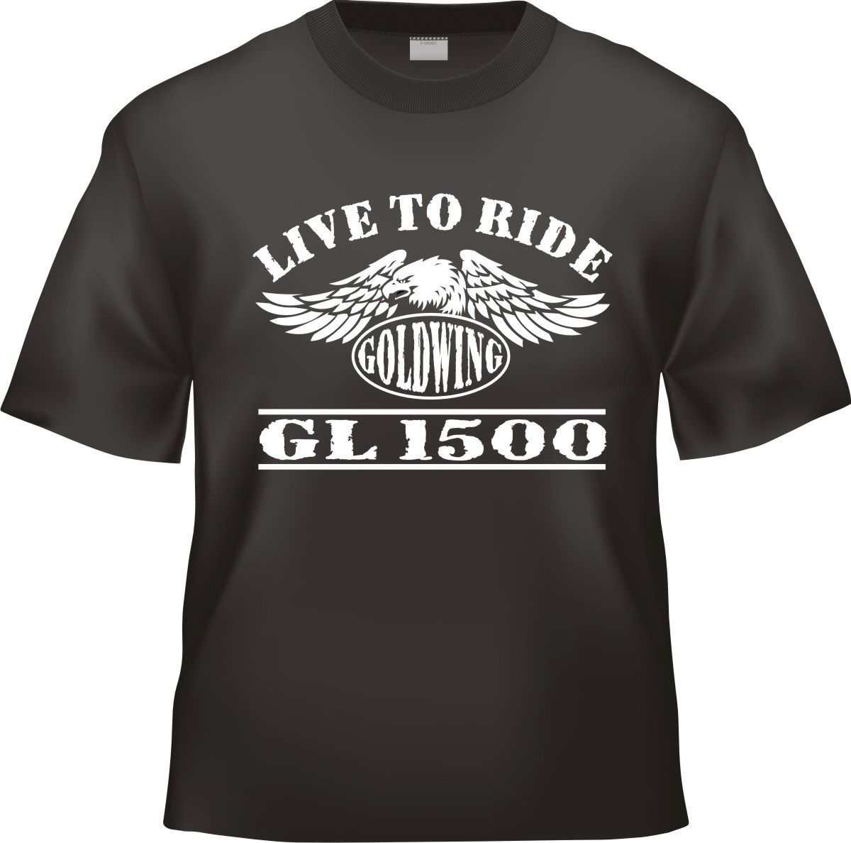 2018 New Summer Tee Shirt New Japanese Motorcycle Goldwing GL 1500 GL1500 Motorcycle T-S ...