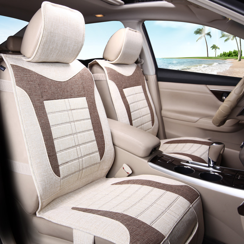 Hemp Cushion Styling Car Seat Cover For Ford Edge Escape Kuga Fusion Mondeo Ecosport Explorer Focus Fiesta,High-fiber Leather, catalog perchatki joe roket cleo sr glove