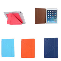 PU Leather Ultra Thin Slim Magnetic Folding Smart Cover Soft TPU Shell Back Case For Ipad