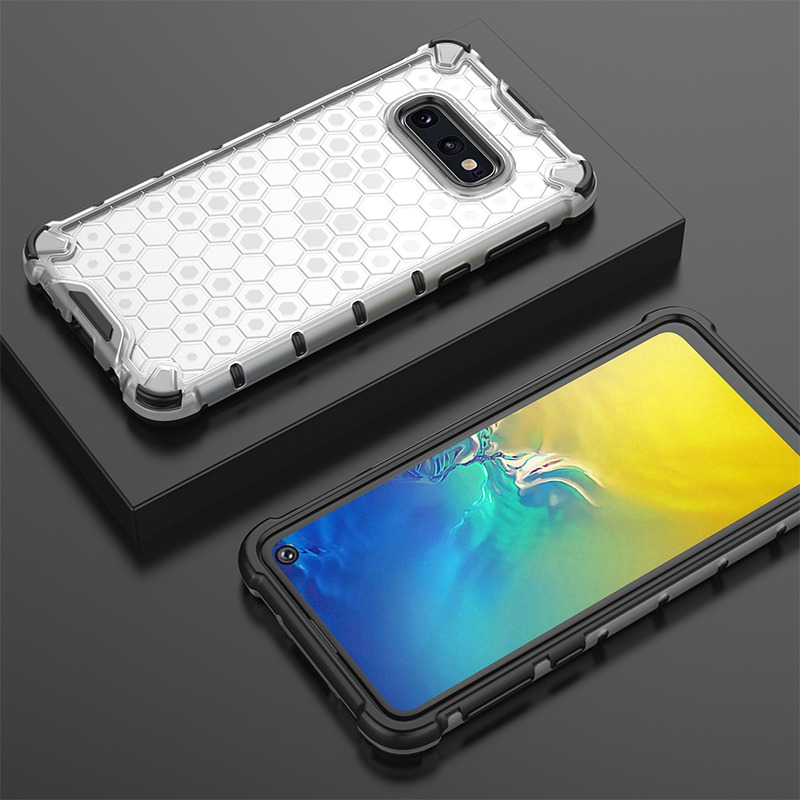 Dual Layer Hybrid TPU + PC Phone Case For Samsung Galaxy S10 Plus S10 S10e A7 2018 A10 A30 A40 A50 A70 M20 M30 Clear Armor Cover