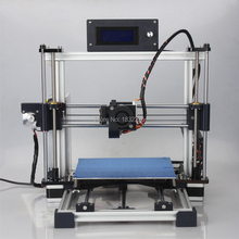 Auto Leveling High Precision imprimante 3d Reprap Prusa i3 DIY 3d Printer kit with 1Roll Filament 8GB SD card+LCD as Gifts