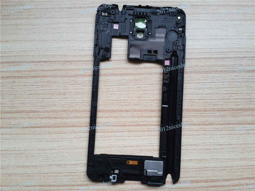 Note3 Rear Frame Black-1