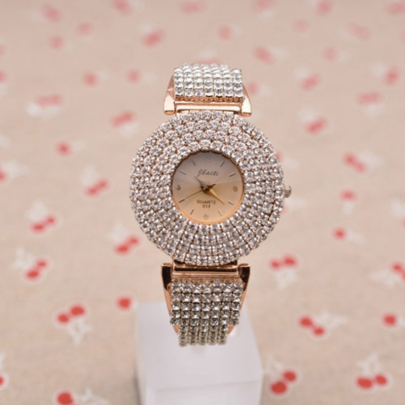 Luxury Wrist Watch Glitter Diamond Ladies Watch Women Watches Fashion Women's Watches Clock Crystal Quartz Mujer Relojes